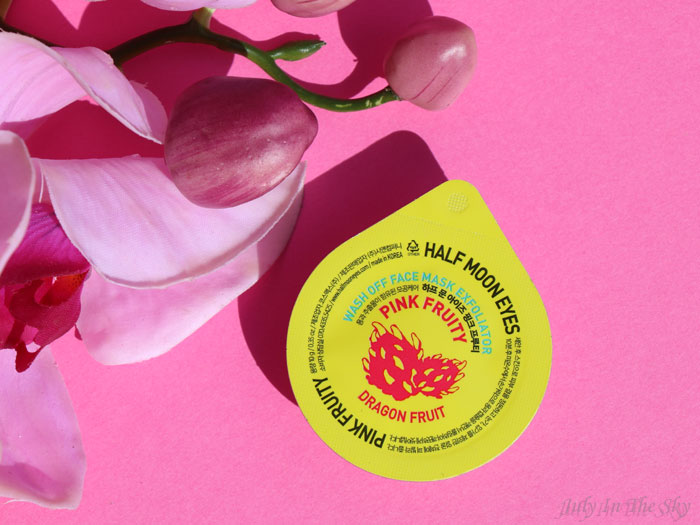 blog beauté kbeauty Joah Box avril avis test Half Moon Eyes Mask Exfoliator Dragonfruit
