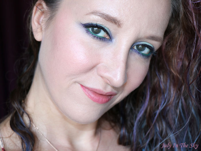 Monday Shadow Challenge : Menthe au Champagne