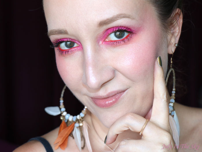 Monday Shadow Challenge : Water Fuchsia