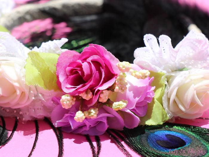 blog beauté Accessoires Cheveux Chics couronne fleurs mariage