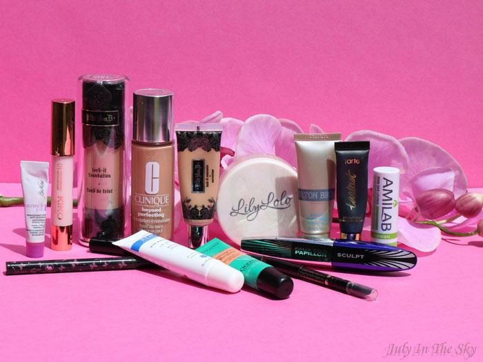 blog beauté produits terminés maquillage