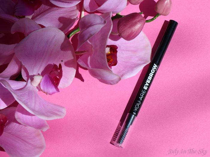 blog beauté You Are Cosmetics avis test cruelty-free maquillage vegan crayon sourcils Golden Brown