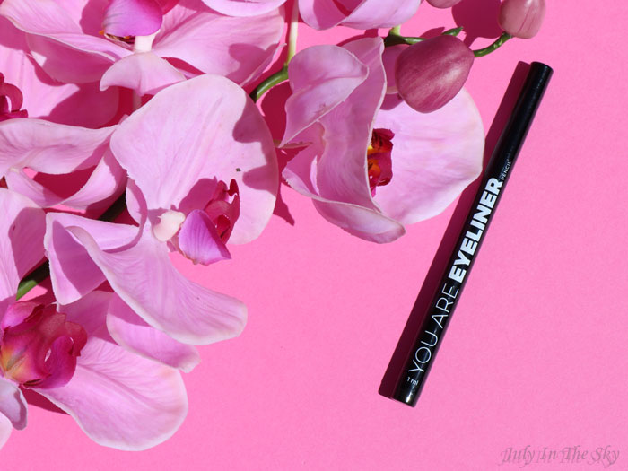 blog beauté You Are Cosmetics avis test cruelty-free maquillage vegan eyeliner feutre noir