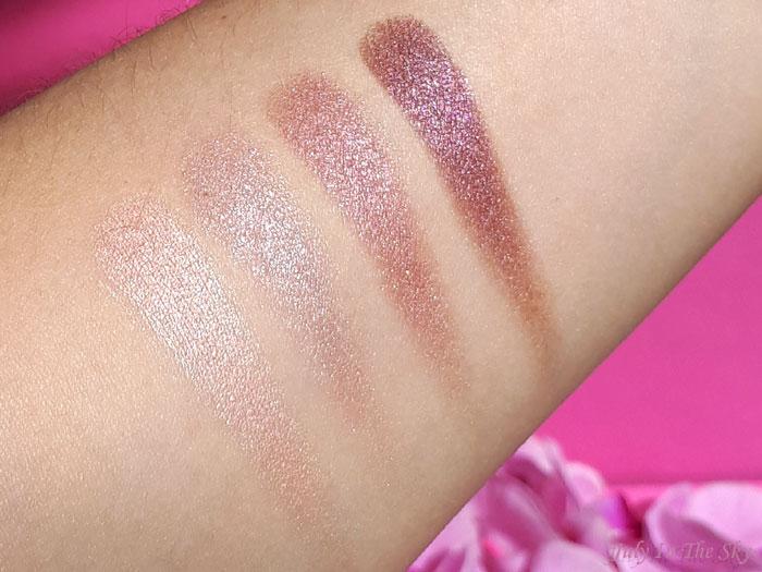 blog beauté You Are Cosmetics avis test cruelty-free maquillage vegan palette d'ombres à paupières essentiel Cendre de Rose swatch