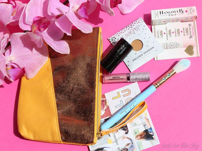 blog beauté avis Ipsy Glam Bag novembre All You