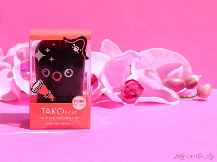 blog beauté kbeauty TonyMoly Tako Pore All-In-One Cleansing Stick