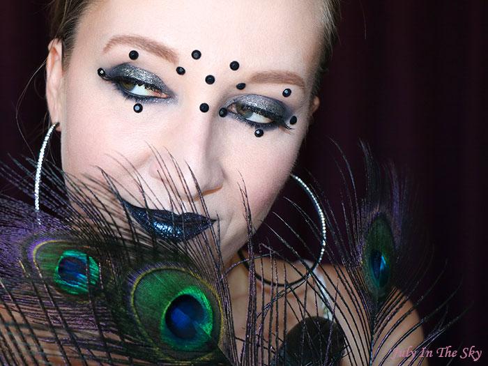 July In The Sky : blog beauté RDV Beauté anniversaire retrospective All Black tutoriel maquillage