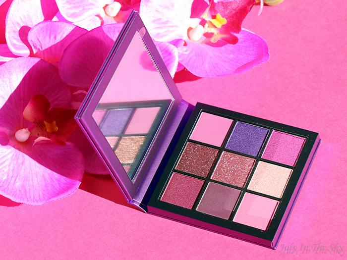 blog beauté Huda Beauty Amethyst Obsessions Palette