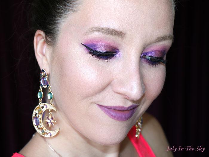 blog beauté Huda Beauty Amethyst Obsessions Palette make-up