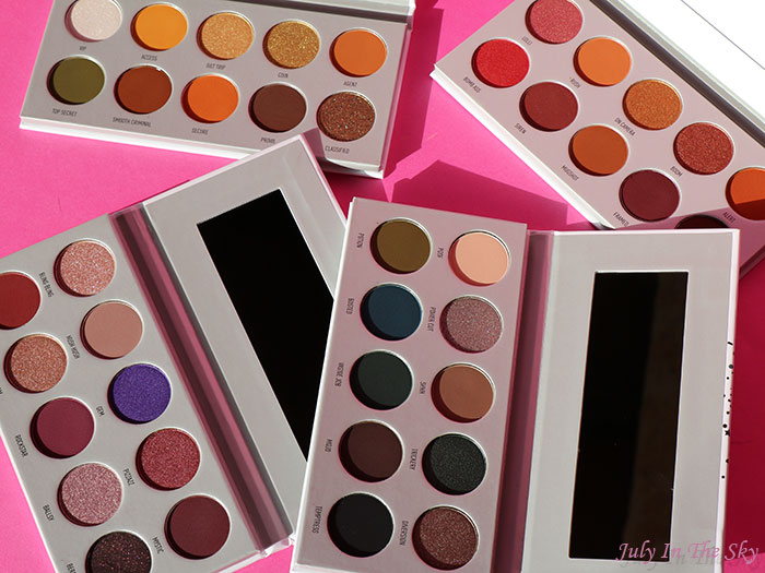 blog beauté Morphe Jaclyn Hill The Vault avis swatch