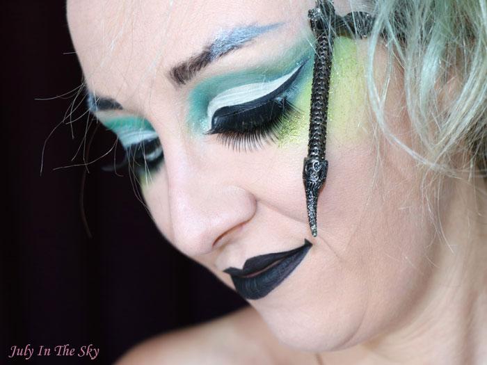 blog beauté tutoriel maquillage Harry Potter serpentard