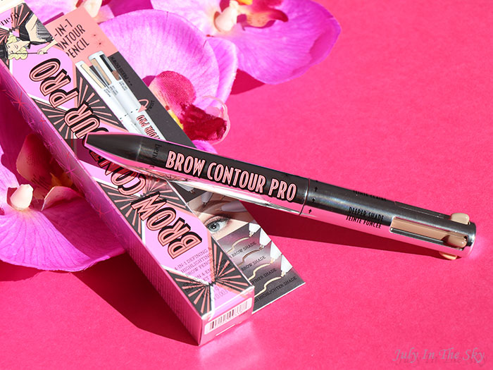 blog beauté Benefit Brow Contour Pro swatch blonde