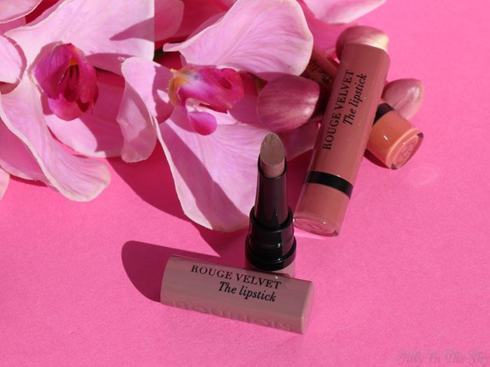 blog beauté From Paris With Mauve Bourjois Rouge Velvet The Lipstick