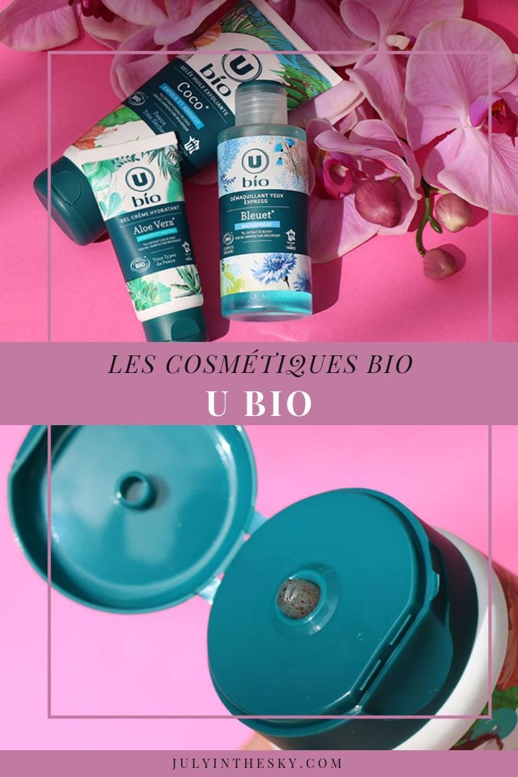 blog beauté cosmétiques U Bio avis test