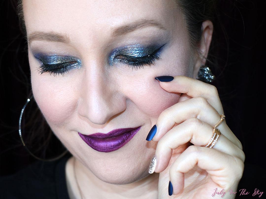 RDV Beauté, maquillage métallique