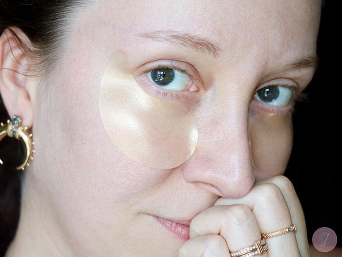 blog beauté Elizavecca kbeauty Hell Pore Gold Hyaluronic Acid Eye Patch