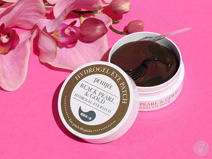 blog beauté Niasha PetitFee Black Pearl & Gold Hydrogel Eye Patch