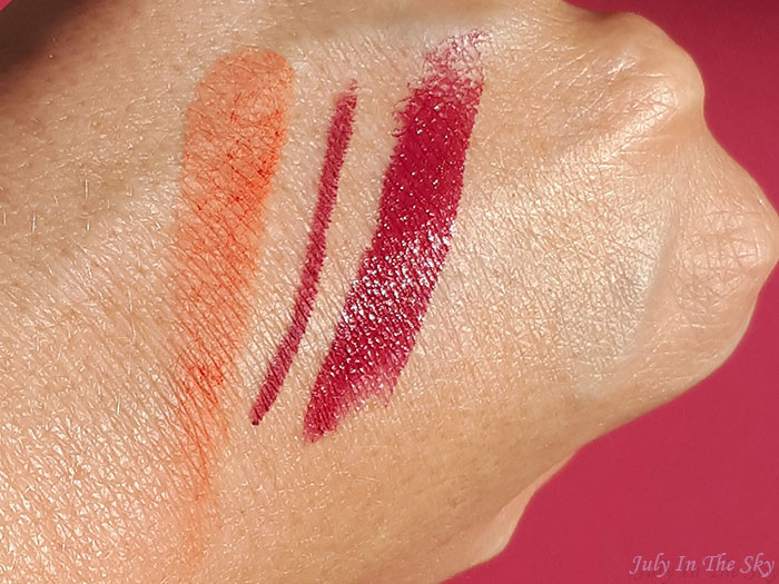 blog beauté You Are Cosmetics avis cruelty-free blush Abricot rouge Folia swatch