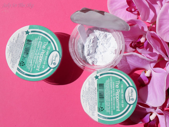 blog beauté Modeling Take-out cup pack The Peppermint Ettang