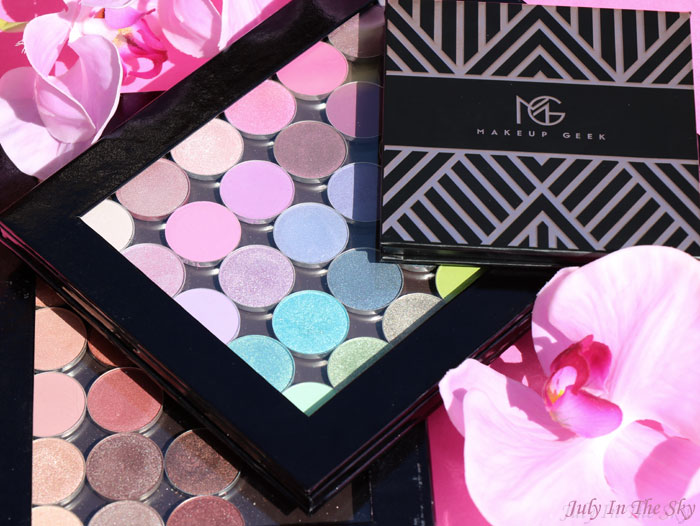 blog beauté makeup geek palette fards mats nouvelle collection manny mua