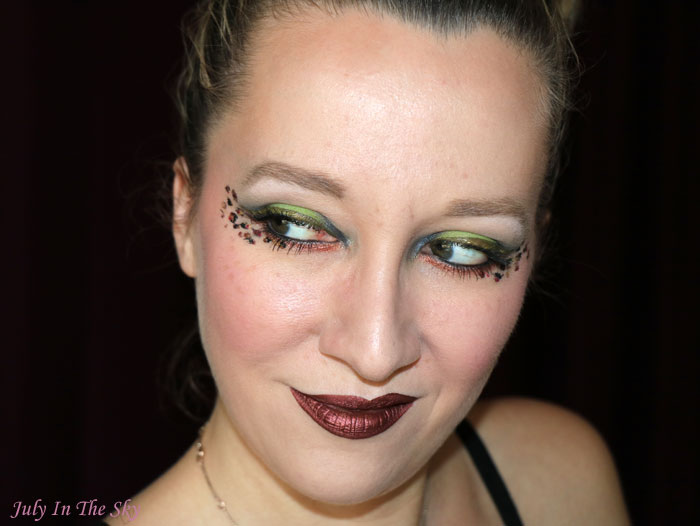 blog beauté monday shadow challenge jungle green