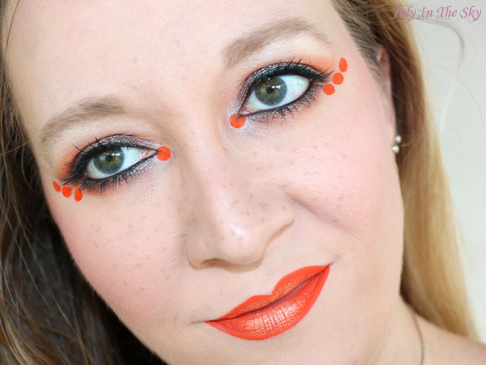 blog beauté monday shadow challenge orange juice
