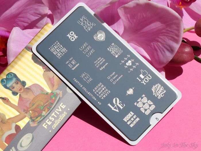 blog beauté nail art moyou london stamping plaque festive