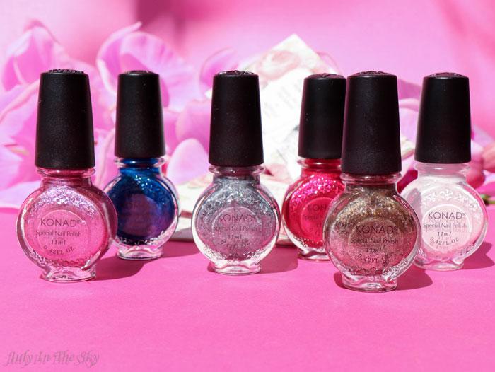 blog beauté haul nail art boutique vernis stamping Konad