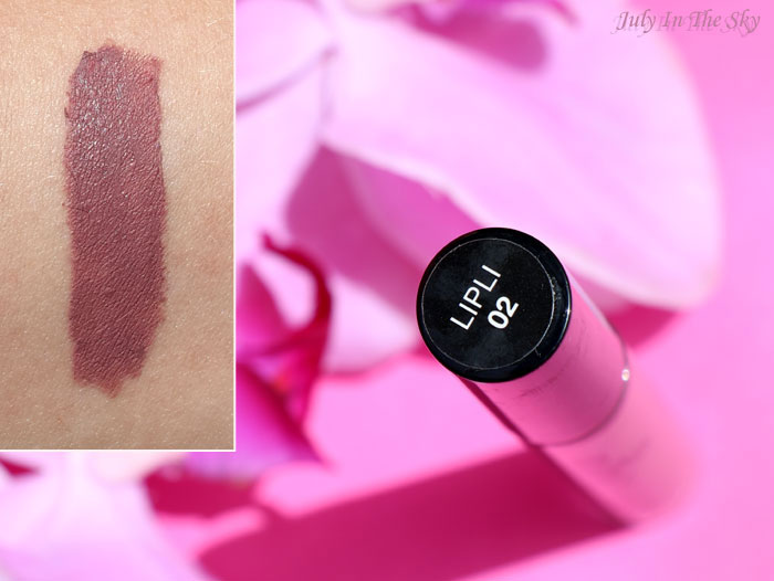blog beauté lip lingerie nyx embellishment swatch