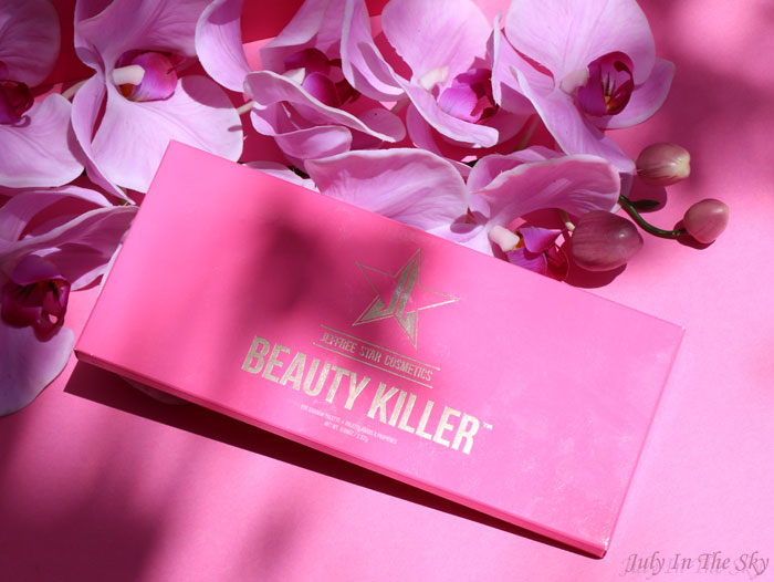blog beauté palette beauty killer jeffree star avis swatch
