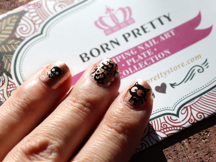 blog beauté nail art stamping née jolie born pretty store