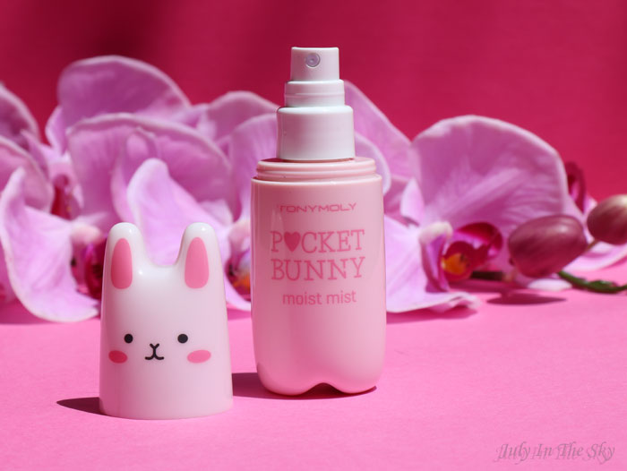 July In The Sky : blog beauté tonymoly pocket bunny brume