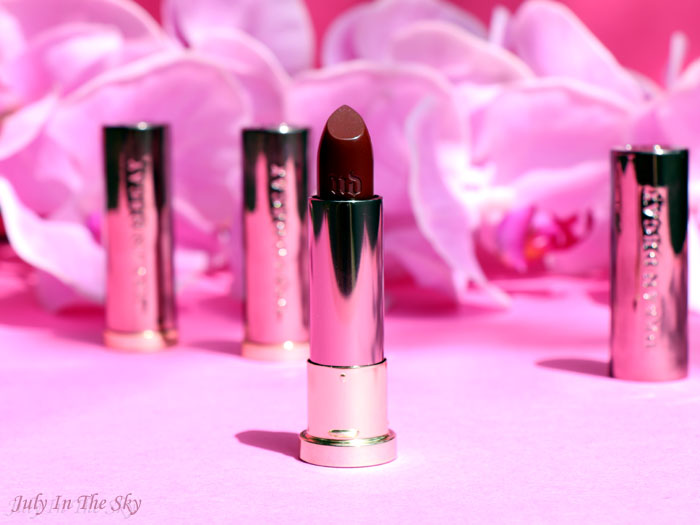 blog beauté vice lipstick urban decay twitch shame blackmail swatch avis