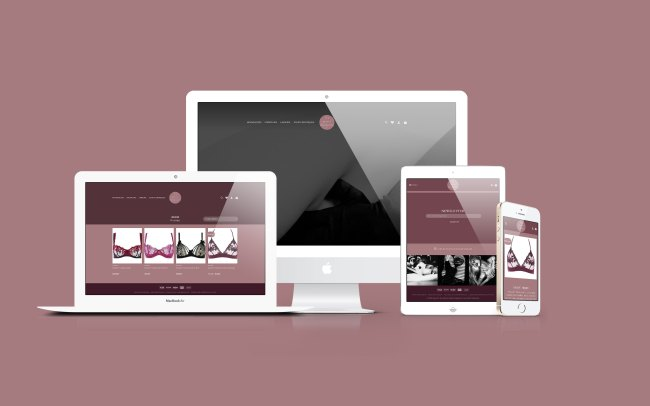 Boutique Les Petites Déculottées - Web Design - 2020