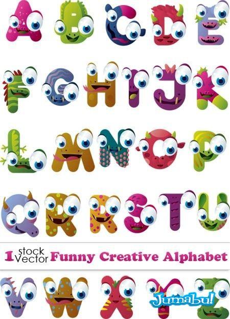 letras-graciosas-vectores