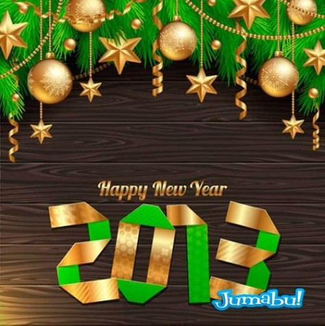año-nuevo-vectorizado-papel-plegado