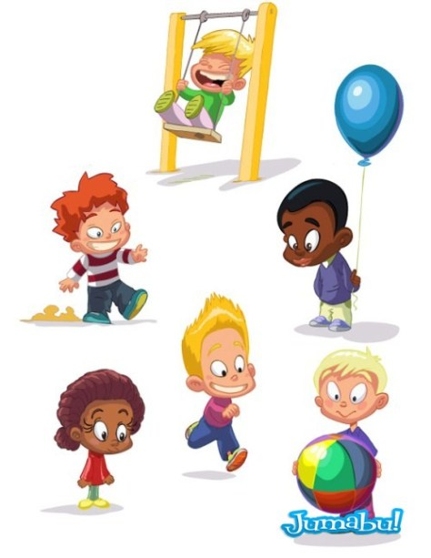 Set of  funny kids 03 []
