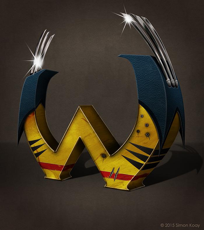 Wollverine-letras-alfabeto