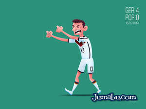 alemania brasil2014 - Dibujos del Mundial de Fútbol Brasil 2014
