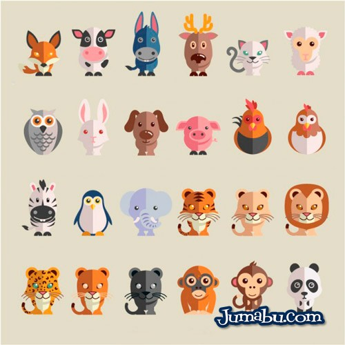 animales-cachorritos-vectores-gratis