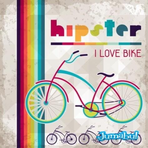 bicicleta-colorida-vectores
