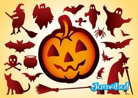calabaza-halloween-vectores