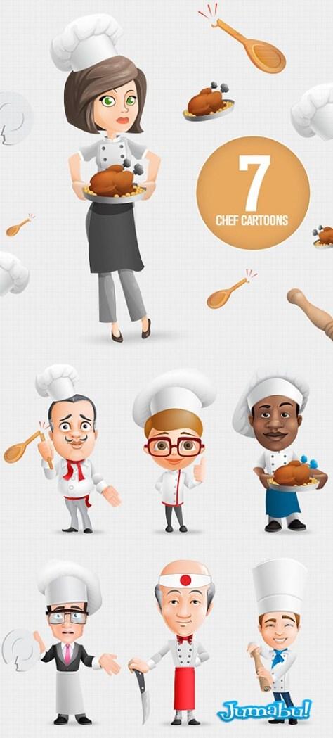 dibujos-chef-photoshop
