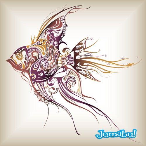 escalar-tribales-peces-tatoo-tatuajes