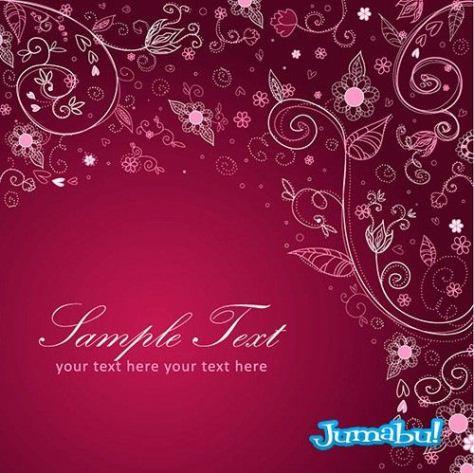 backrounds-floral-fuccia-rosa