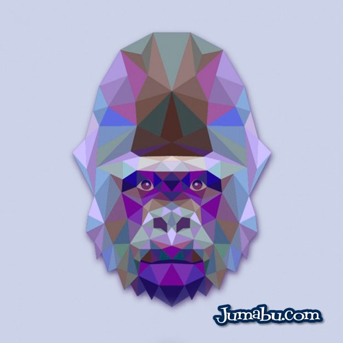 gorila-vectorial-gratis
