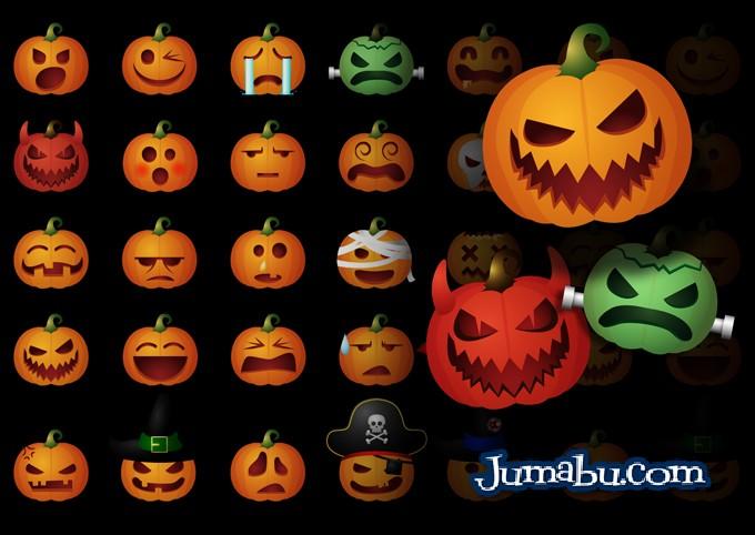 halloween-calabazas-vectores-gratis-iconos