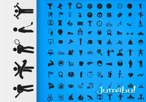 iconos-deportivos-vectores-planos