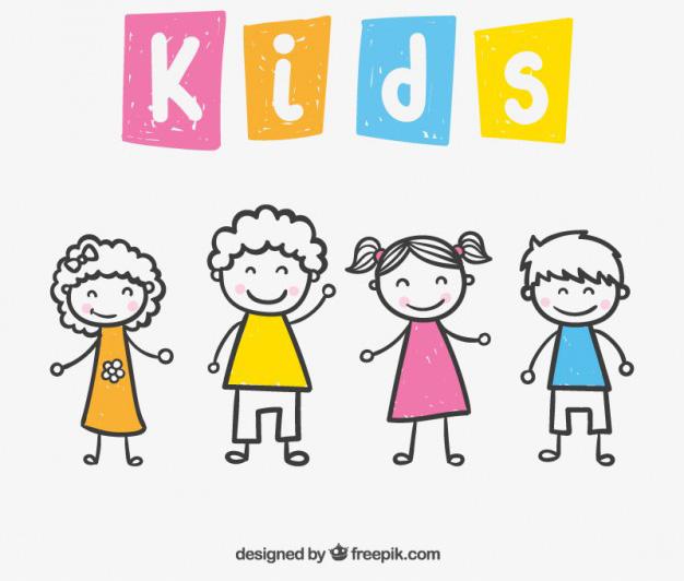 Vectores de Dibujos de Niños | | Jumabu