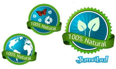 Natural-ecologic-vectorizados